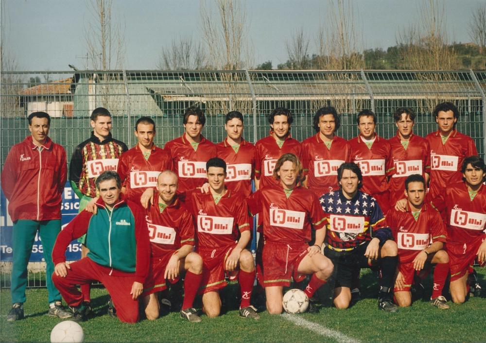 I ROSSOVERDI PASSANO AL CAMPIONATO NAZIONALE DILETTANTI 1996/1997