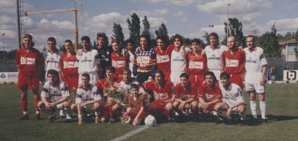 Amichevole con A.C. FIORENTINA 1998