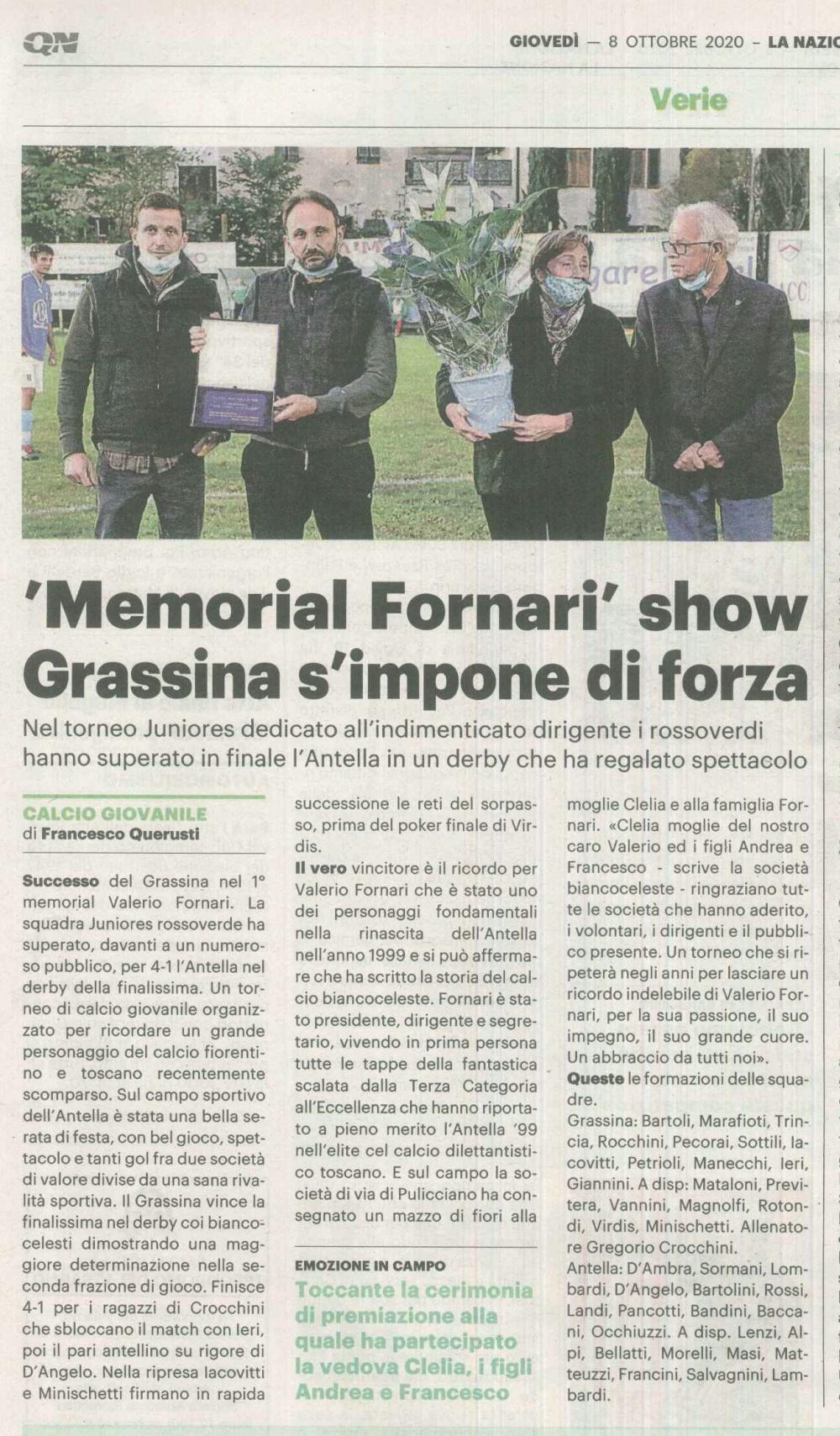 TORNEO FORNARI